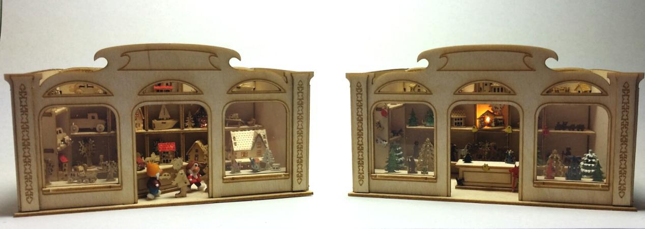 Beleuchtete Miniaturen