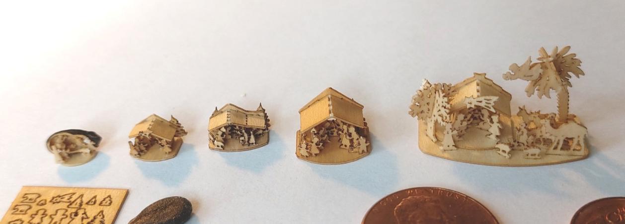 Miniaturkrippen